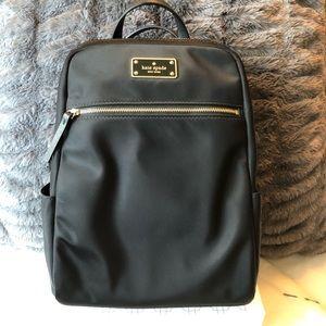 Kate spade black backpack